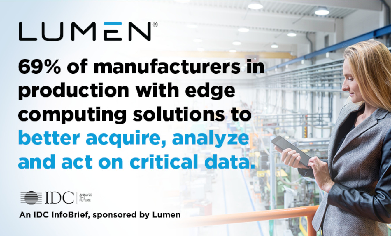 Edge computing can address the latency, reliability, and security requirements of industrial operations.