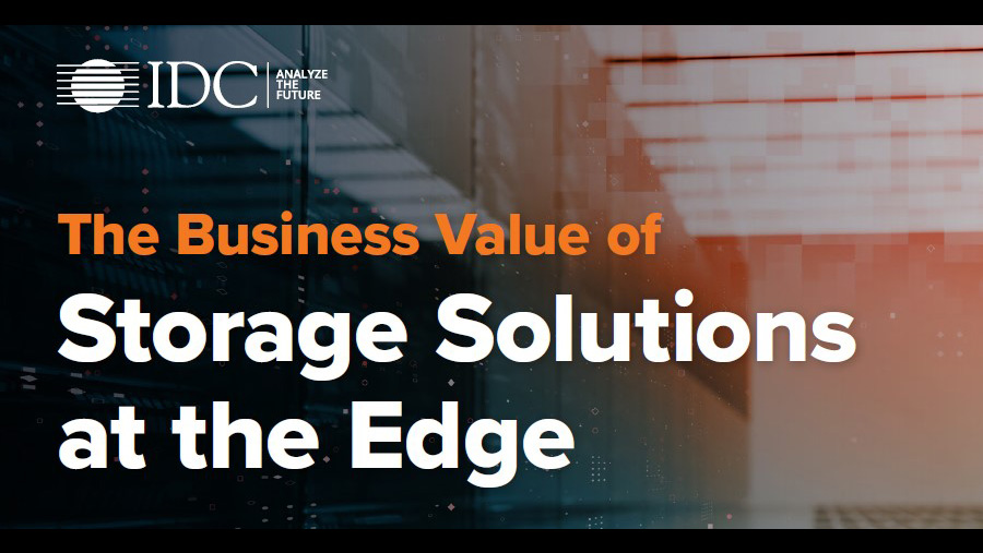 Discover how business leaders are looking to gain value from Edge storage solutions