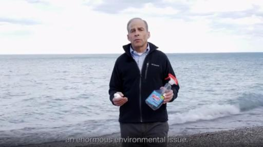 Play Video: SC Johnson Chairman & CEO Fisk Johnson shares how using concentrate bottles can help reduce plastic waste