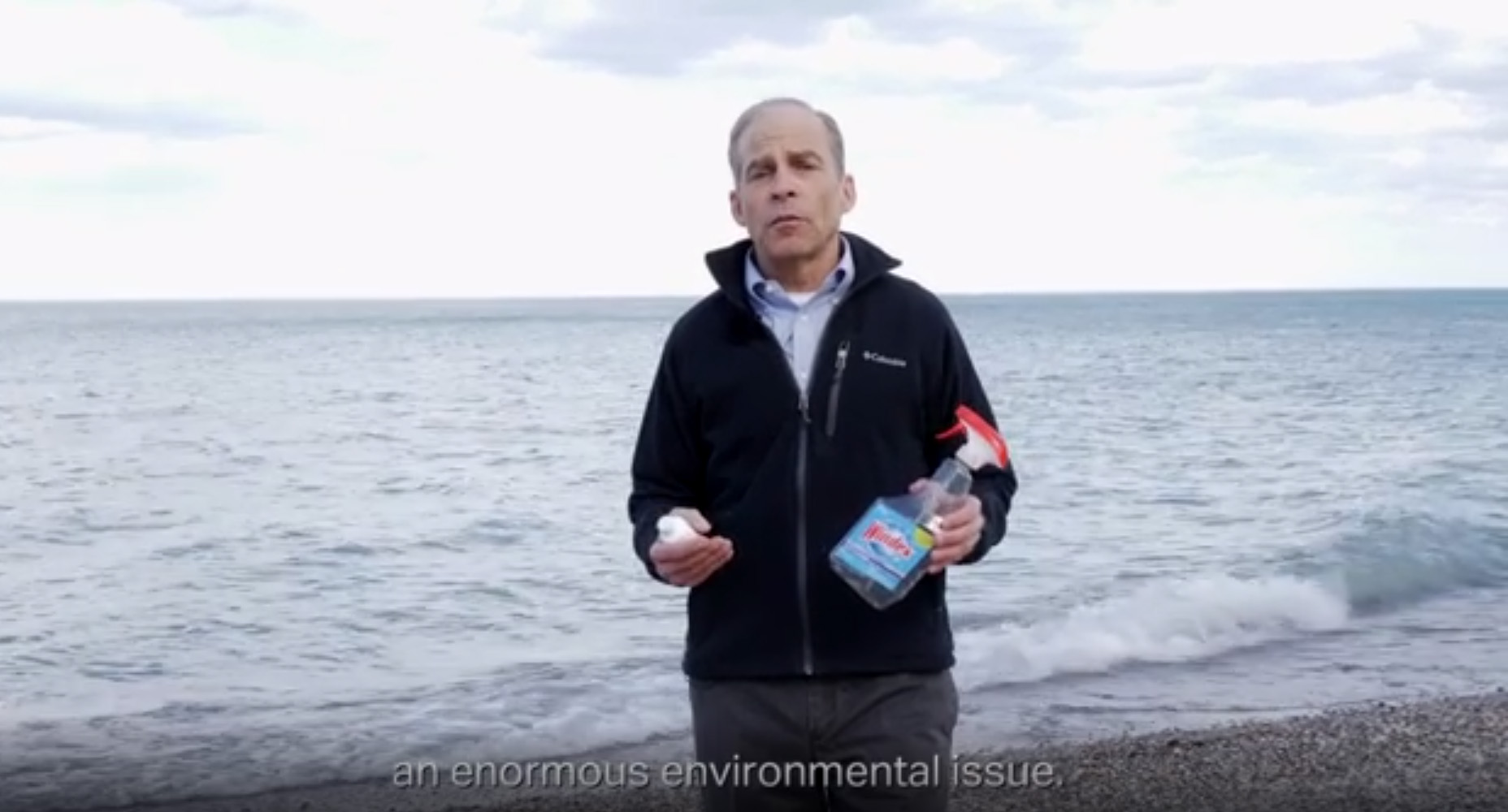 SC Johnson Chairman & CEO Fisk Johnson shares how using concentrate bottles can help reduce plastic waste.