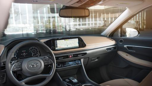 Sonata Interior features a 'Beautifully Smart' Technology and Design