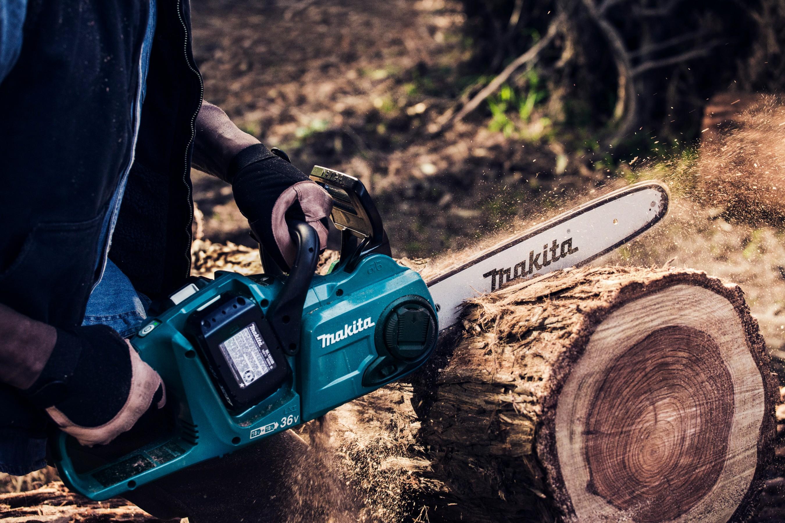Makita LXT Cordless Chain Saw