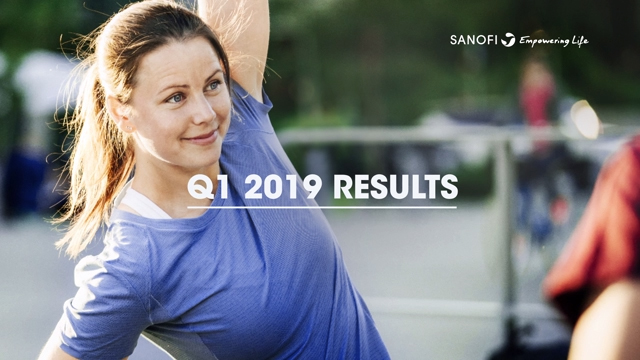 Sanofi delivers strong Q1 2019 business EPS growth of 9.4% at CER
