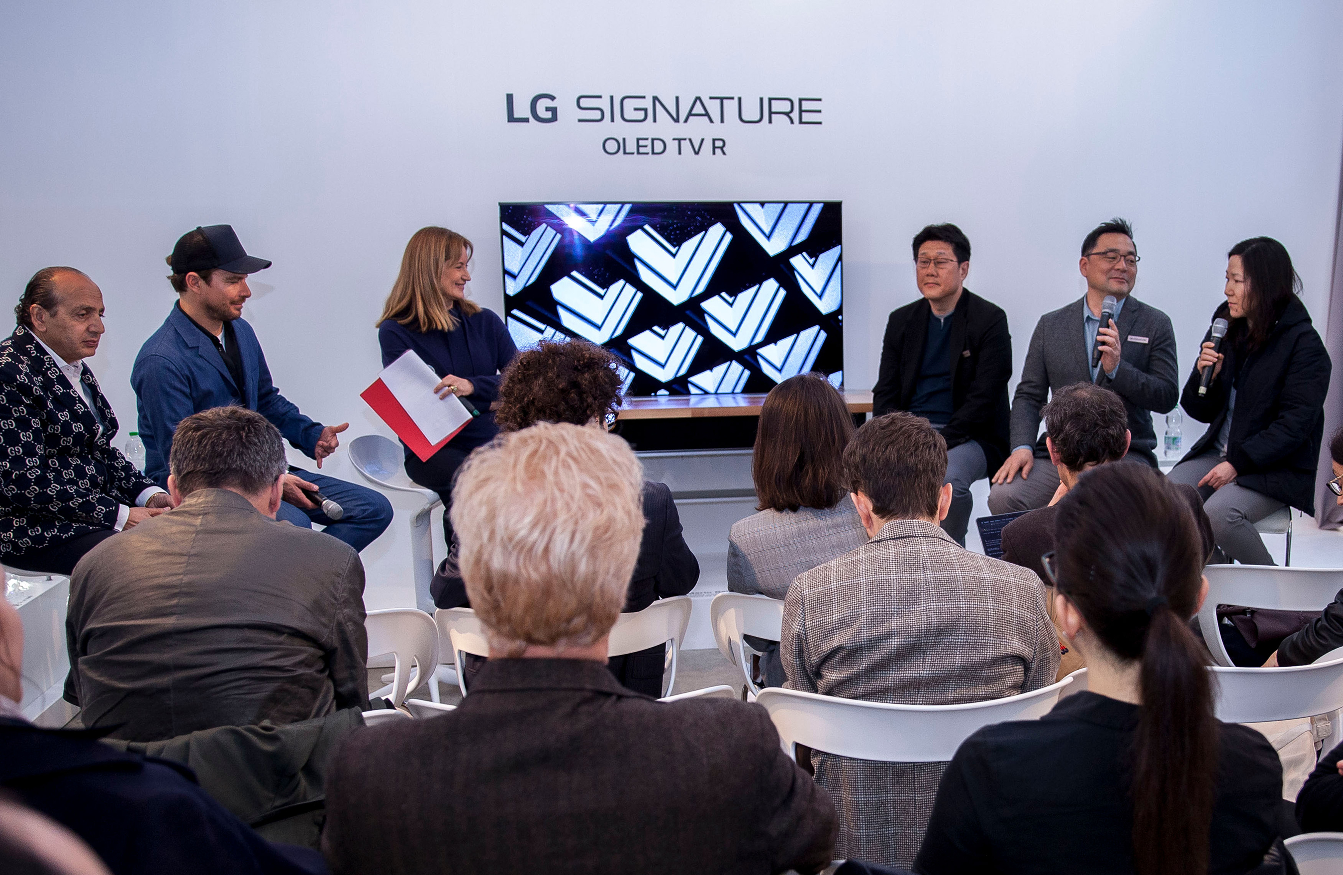LG SIGNATURE Design Talk at MDW 2019