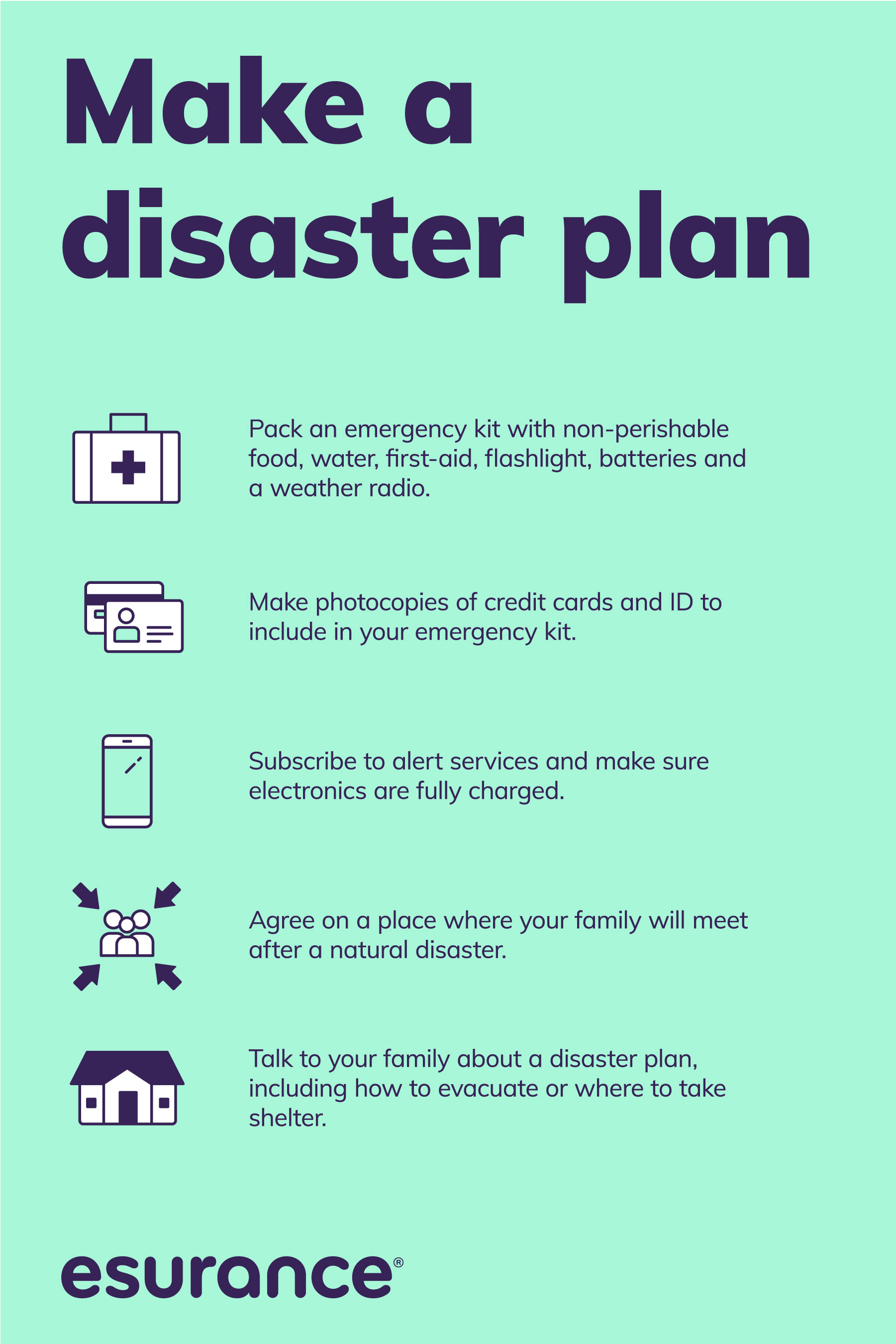 Making a family disaster plan is an important step to being prepared, and it can be surprisingly painless with this simple guide