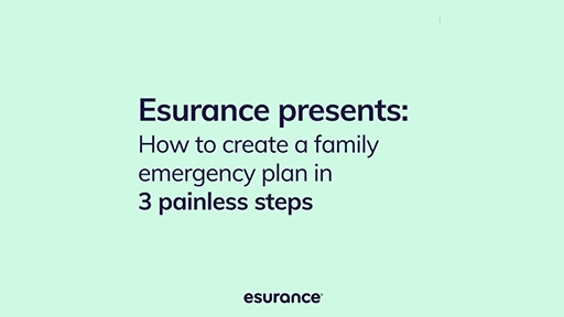 Creating an emergency plan for your family is SO important. Luckily, it's also surprisingly painless. Here's how to do it in 3 easy steps.