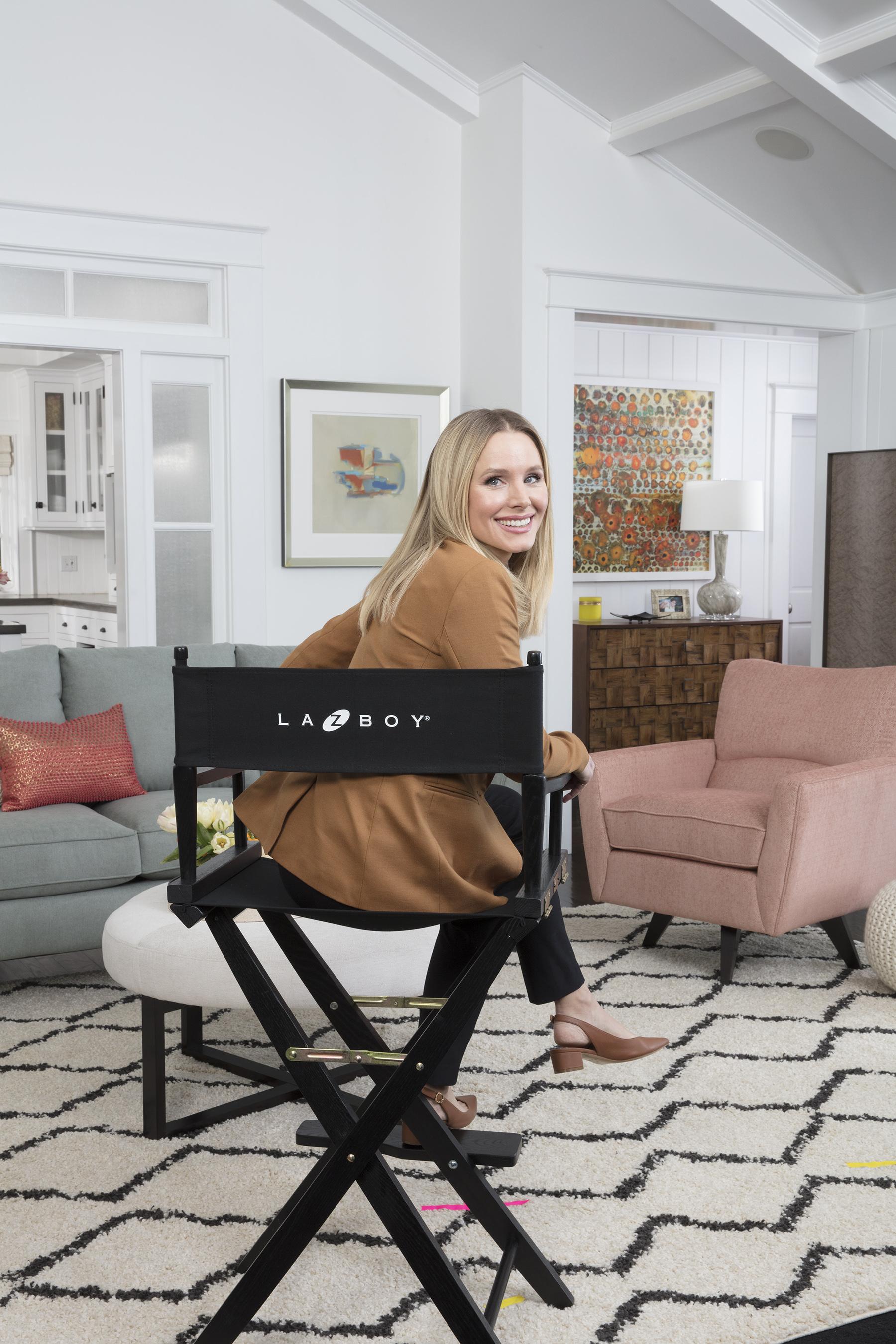 e2914ab3f9483a Kristen Bell Joins La-Z-Boy Family As New Brand Ambassador