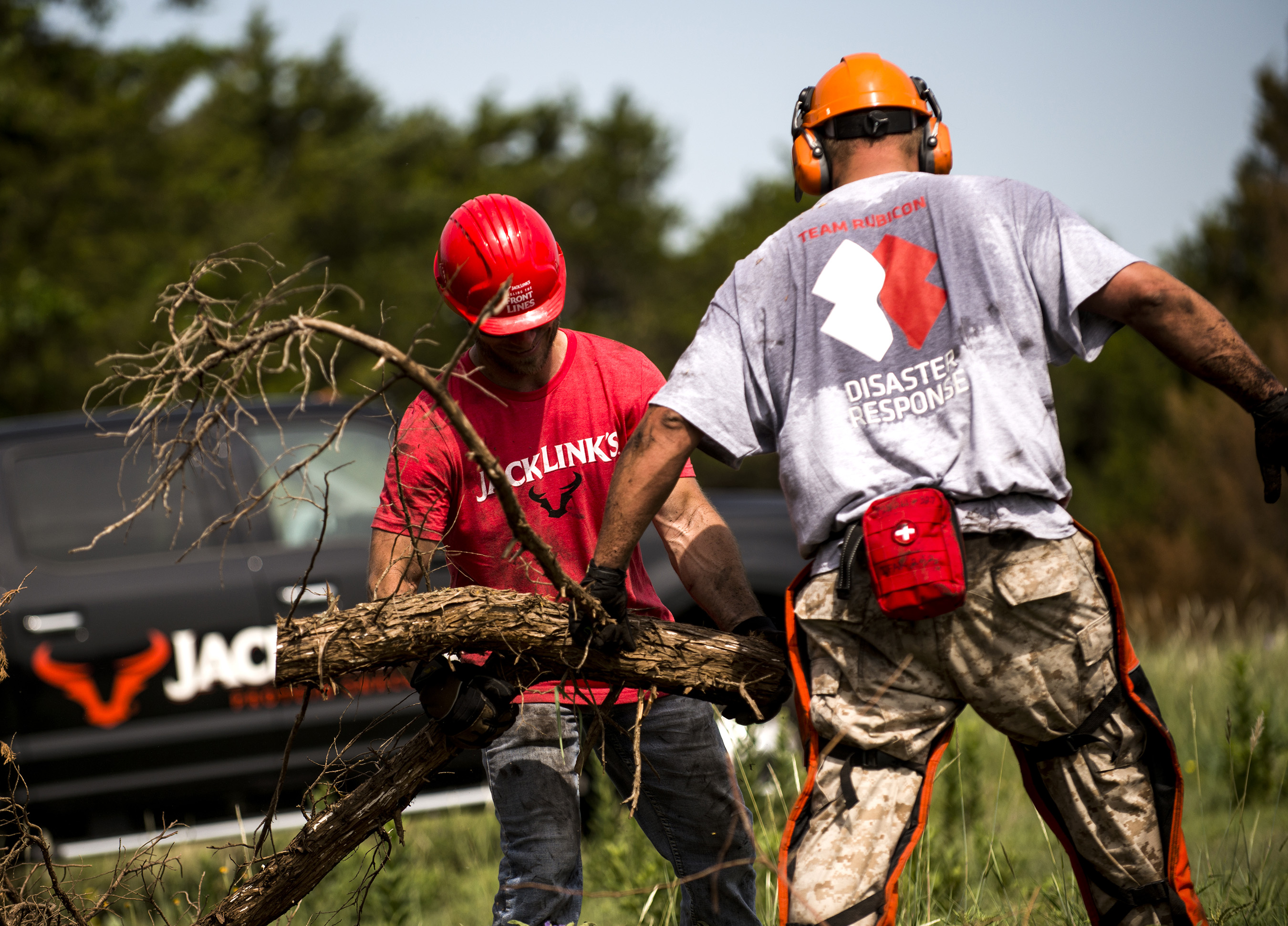 Team Rubicon and Jack Link's team up to support communities struck by disaster.