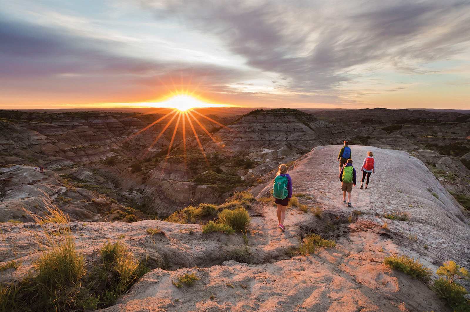 Find fossils and adventure in Montana's badlands. (Photo Courtesy: Visit Montana)