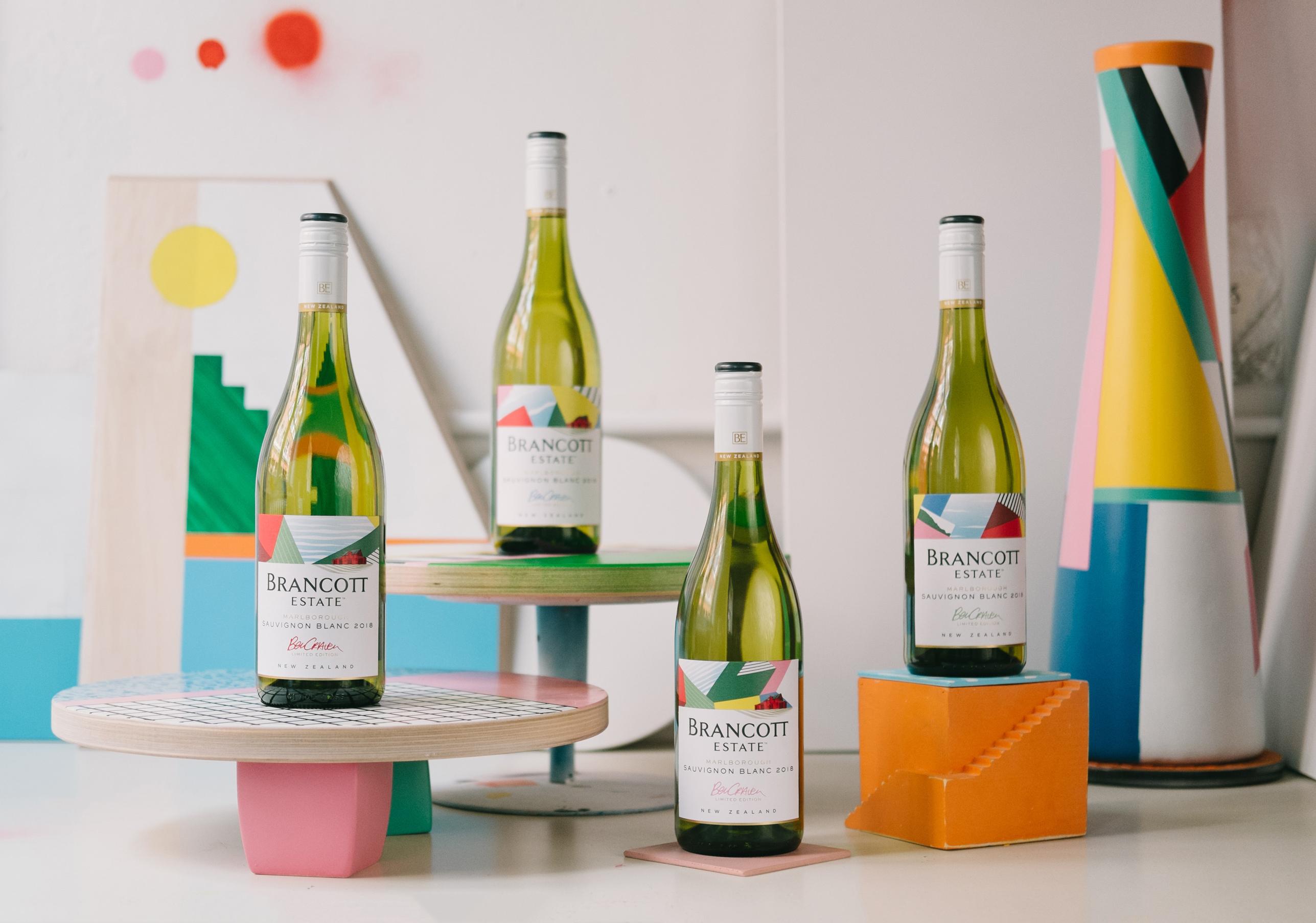 Benjamin Craven designed Brancott Estate Limited Edition bottles