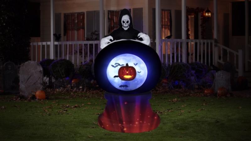 Halloween And Christmas.Introducing Living Projection For Halloween And Christmas