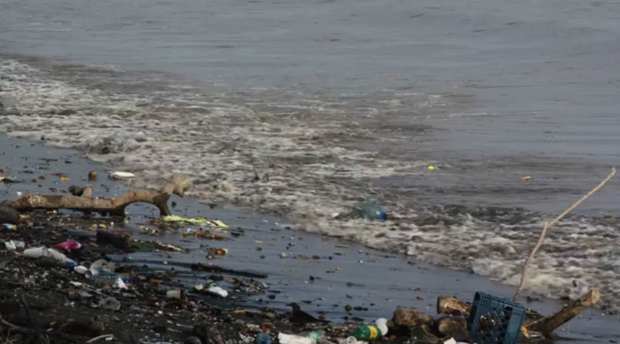 A lot of the plastic waste that ends up in the ocean flows from rivers and other inland waterways.