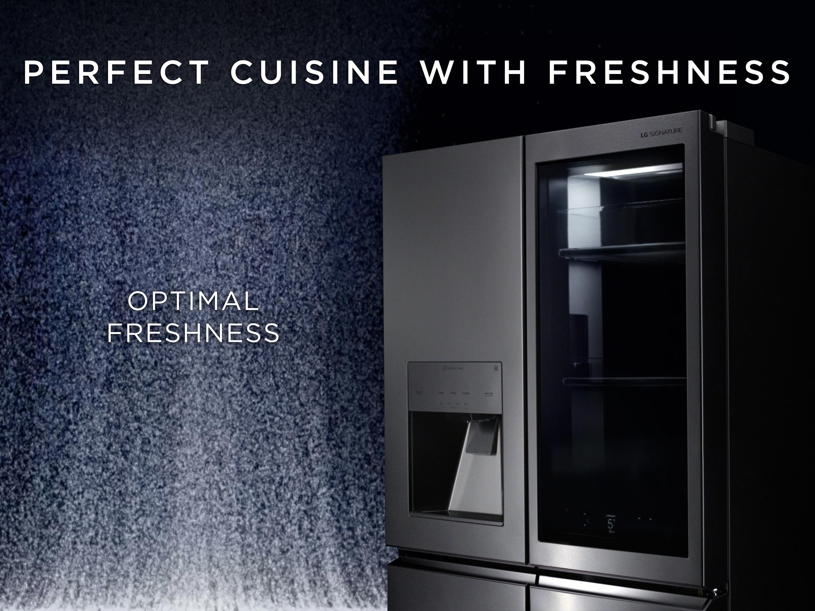 LG SIGNATURE Digital Ad-Refrigerator