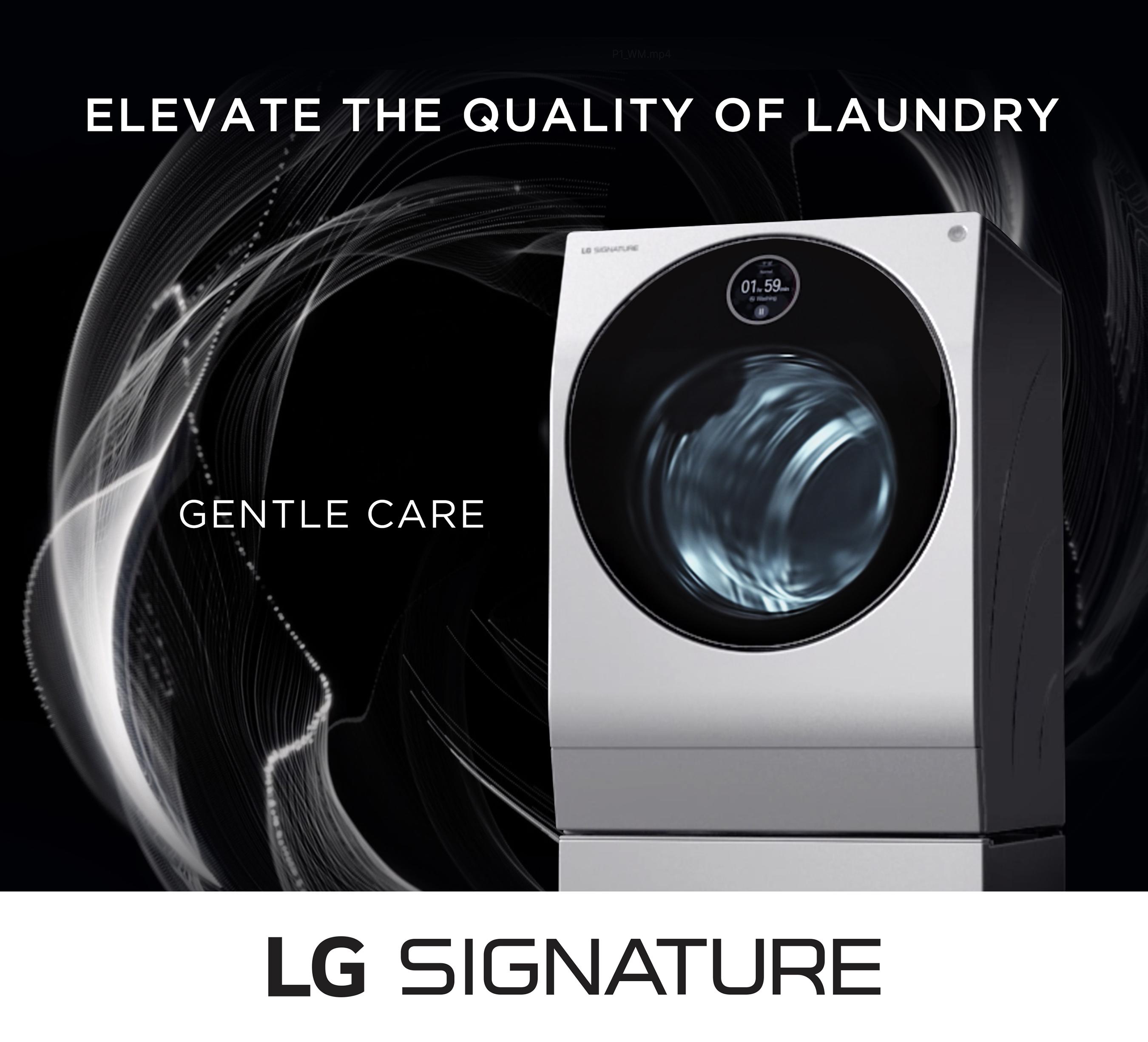 LG SIGNATURE Digital Ad-Washer