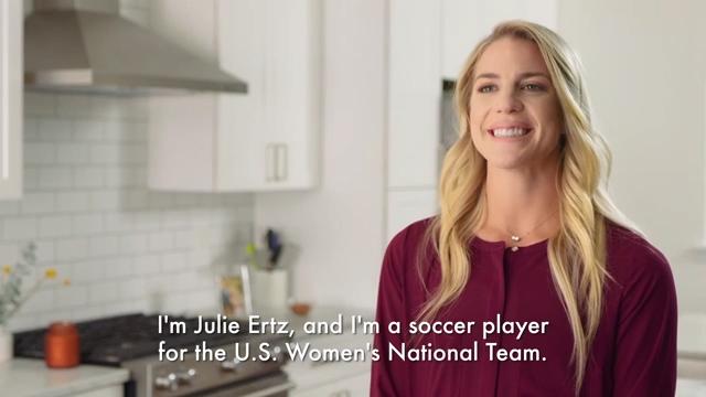Learn how Julie Ertz Owns her Everyday