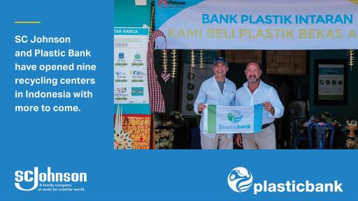 Plastic bank recycling center