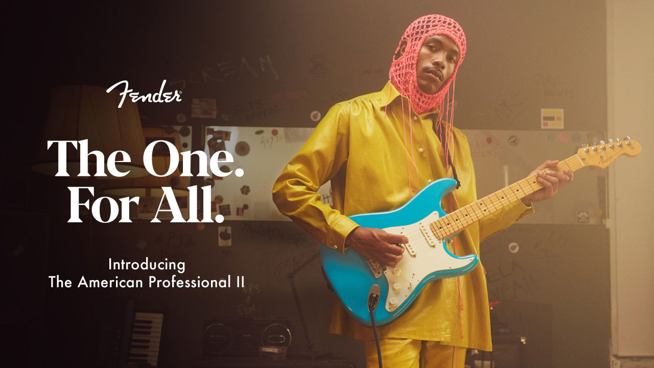 Fender® Debuts All-New American Professional II Series, The World's Most Played Electric Guitars And Basses, With Unifying 'The One. For All.' Campaign