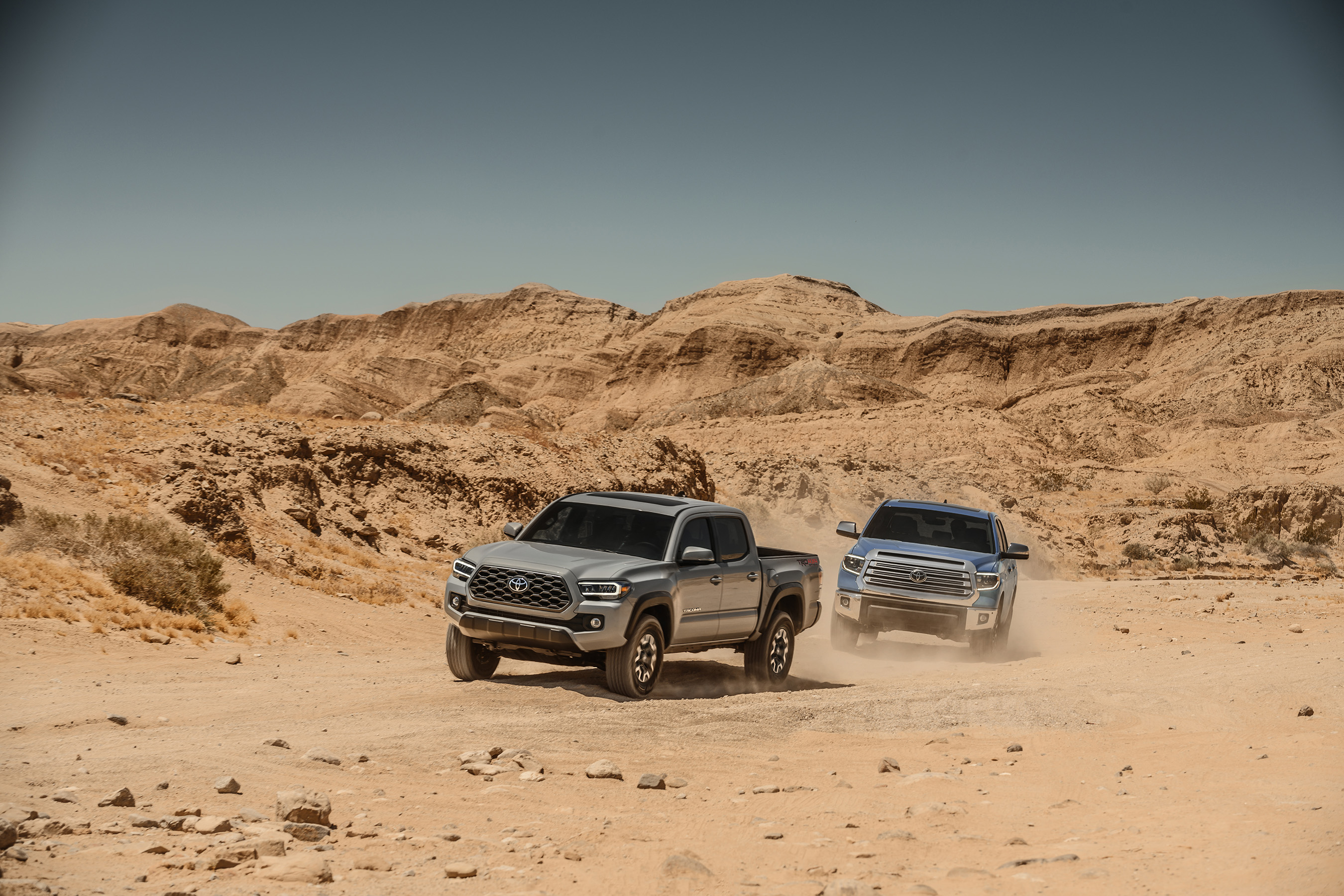 Toyota gets tough for a soccer-filled summer with Tacoma and Tundra.