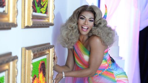 Photo of the beautiful Shangela, actor and performer