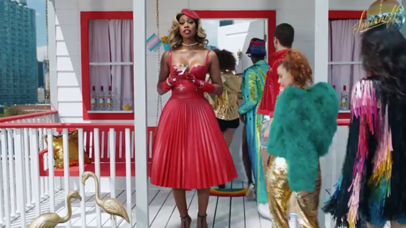 """Smirnoff debuts """"Welcome Home"""" campaign starring Laverne Cox to welcome millions of LGBTQIA+ community members and allies traveling to New York for Pride."""