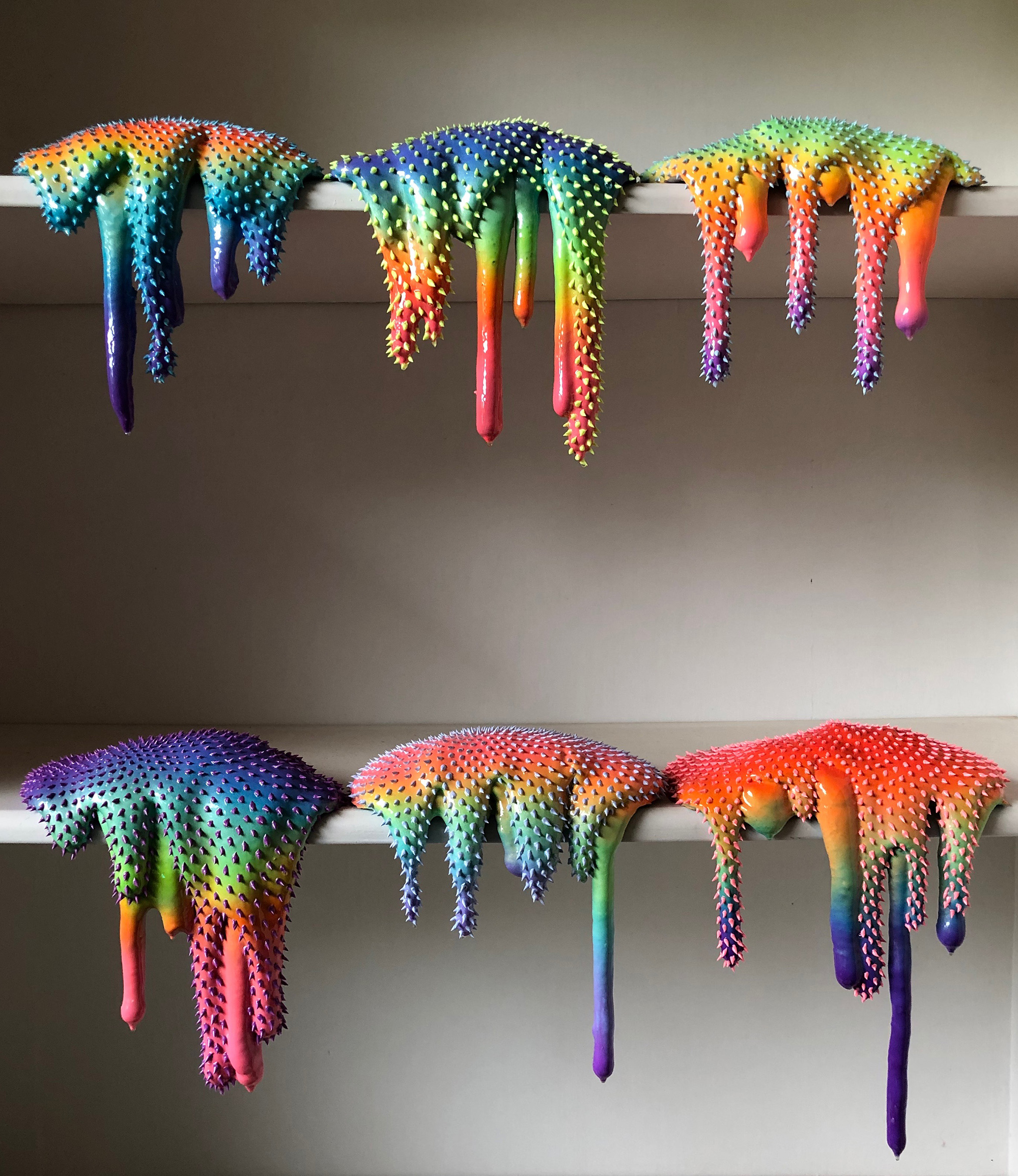 A preview of artist Dan Lam's work, inspired by Boston-born brand, Steve's Ice Cream.