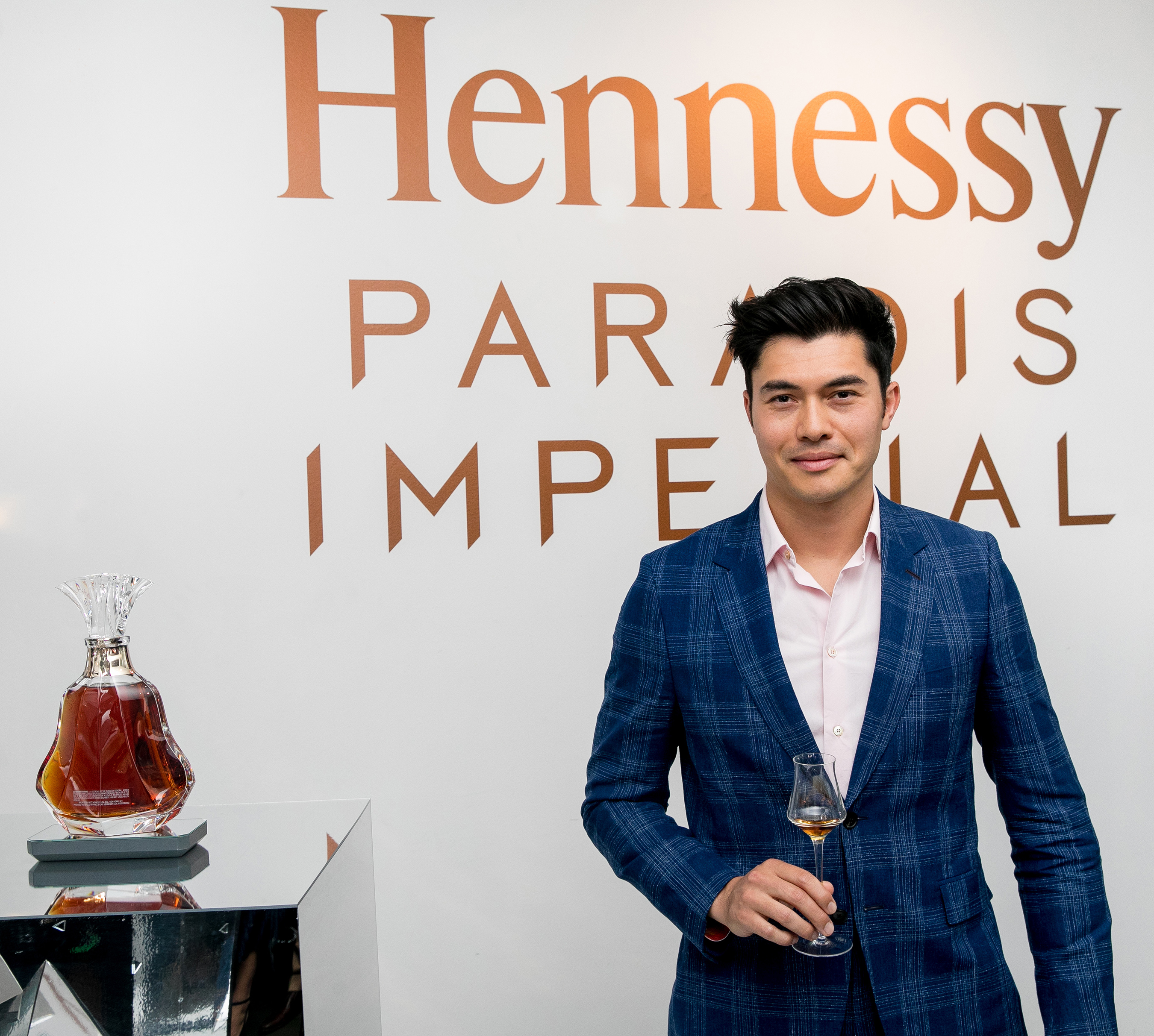 Henry Golding, Hennessy's first official Prestige & Rare Cognac Collection Ambassador
