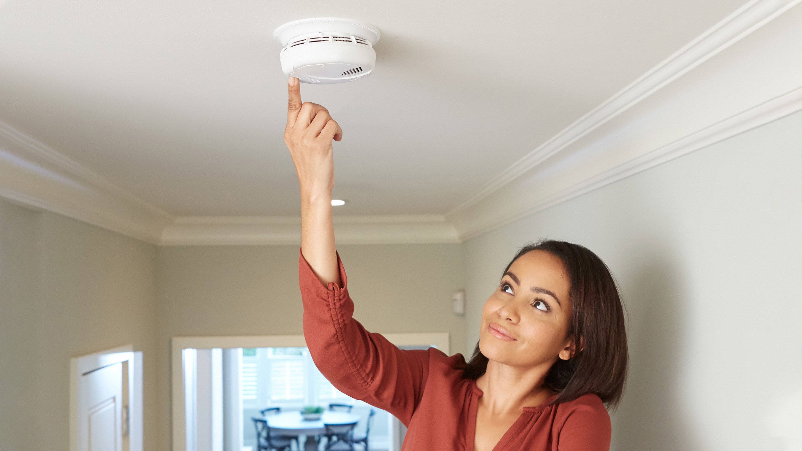 It's important to test your smoke alarm monthly.