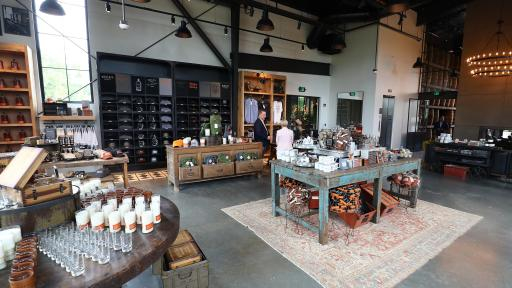 The New Bulleit Distilling Co. Visitor Experience Cocktail Bar in Shelbyville, Ky