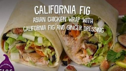 CA Figs Asian Chicken Wrap