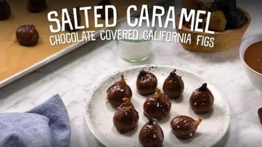 Chocolate Covered CA Figs