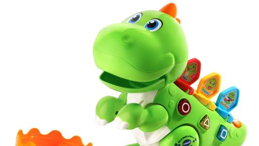 VTech® announces the availability of new infant, toddler and preschool toys, including the Mix & Match-a-Saurus™.