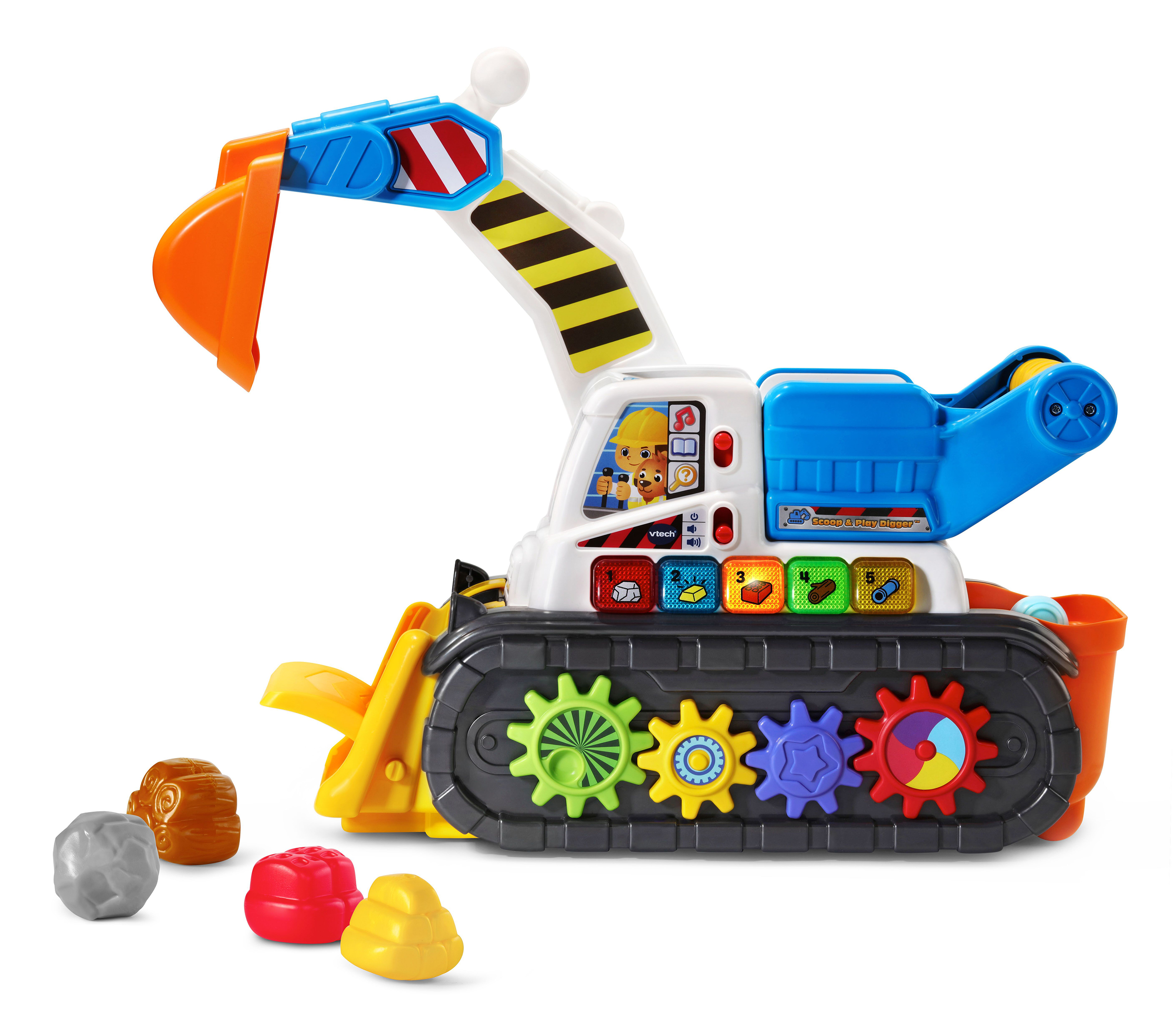 VTech® announces the availability of new infant, toddler and preschool toys, including the Scoop & Play Digger™.