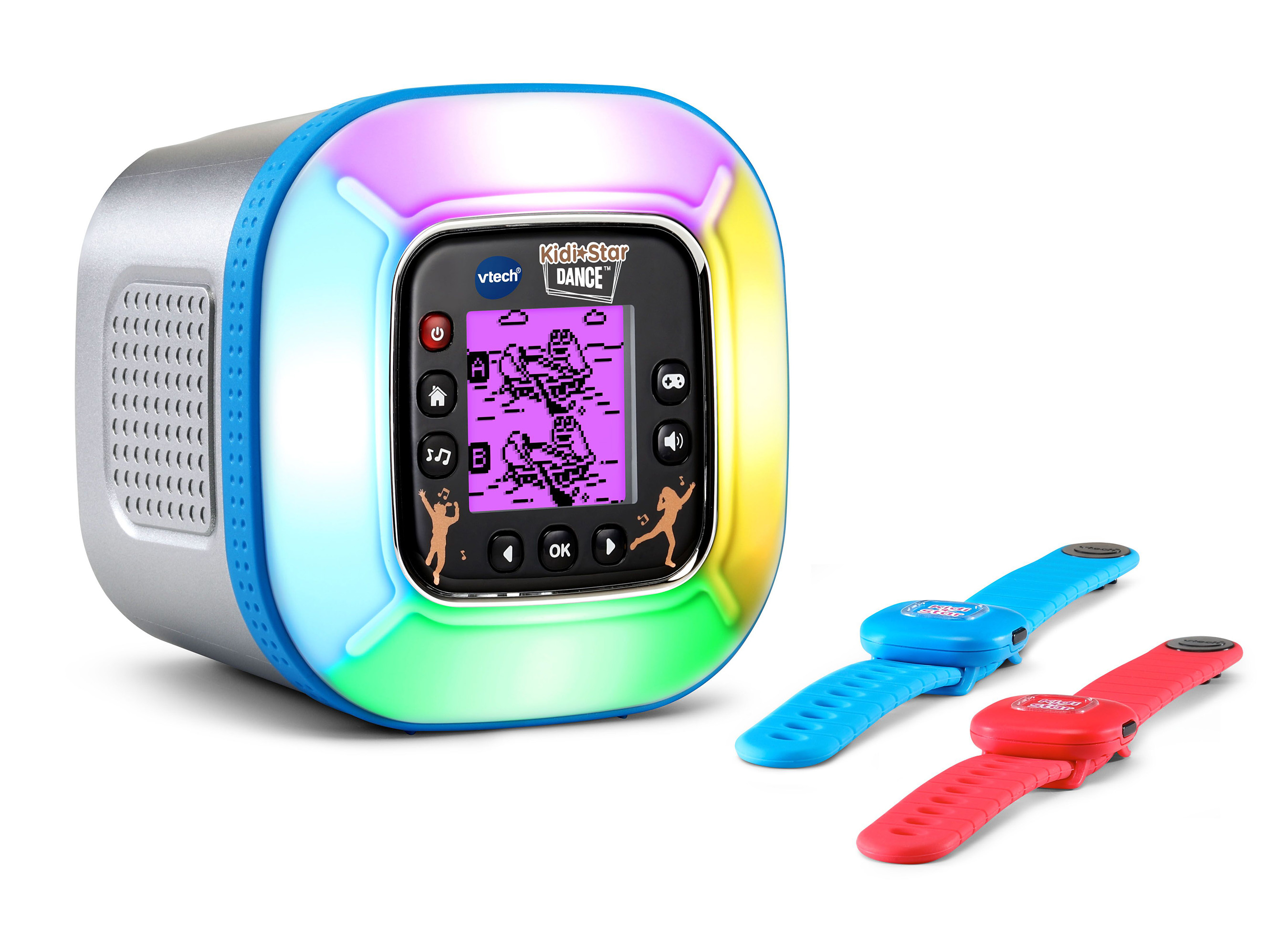 VTech® provides kids with an active play experience with the new Kidi Star Dance™.