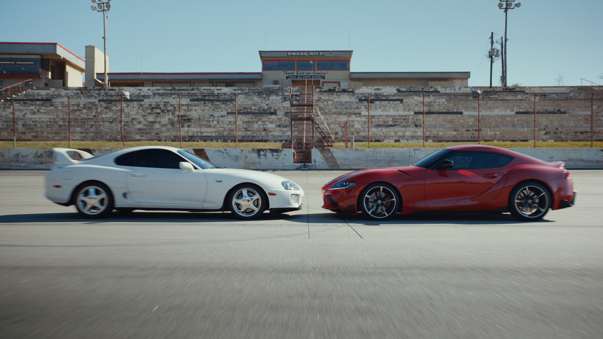 """Face Off"" is a :06-second spot from Toyota's new campaign ""This Is Our Sport."""