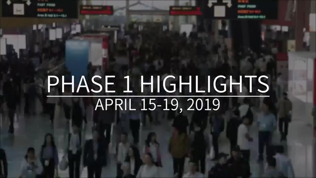 Phase 1 highlights of 125th Canton Fair