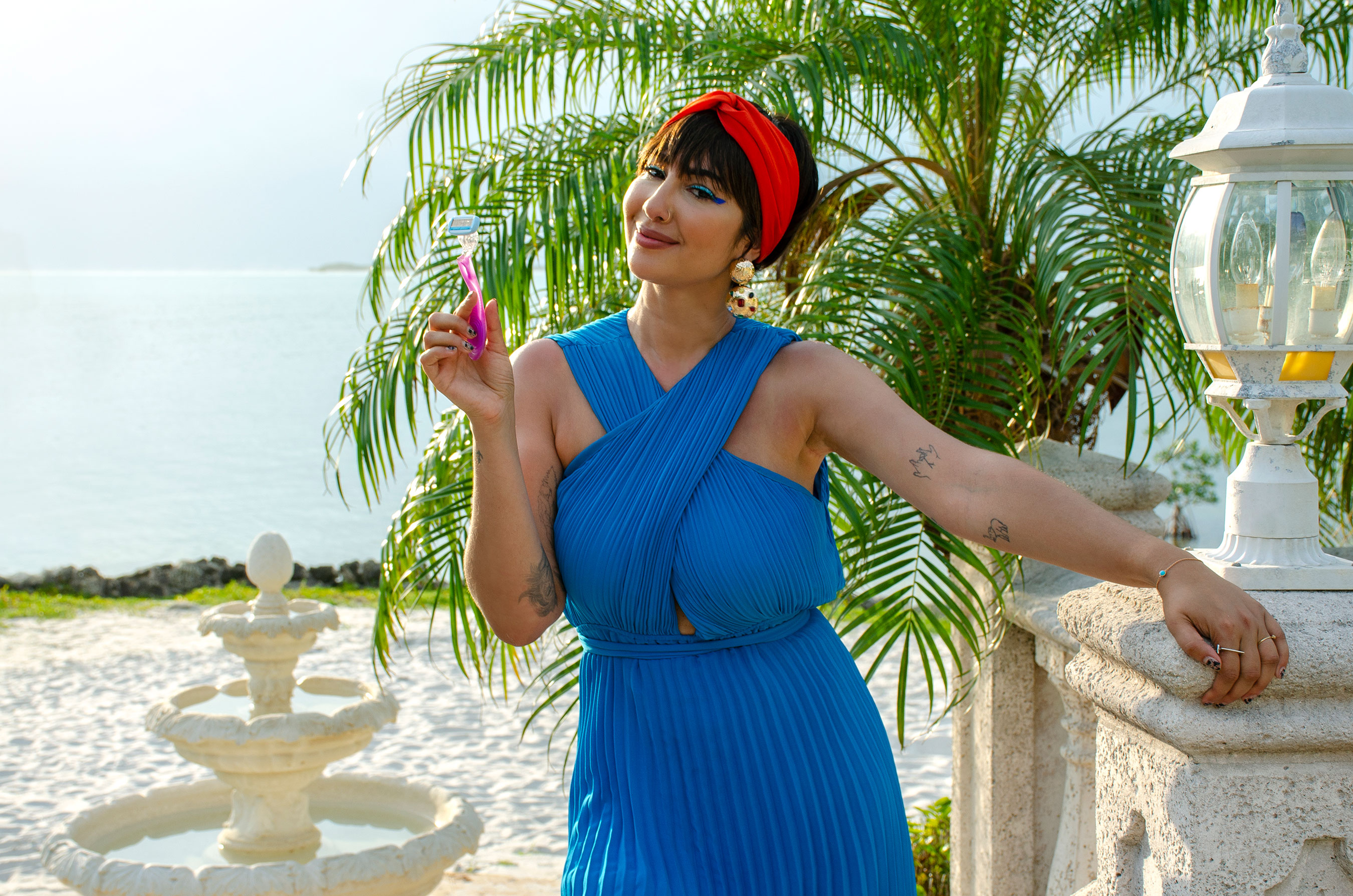 """Schick® Hydro Silk® launches """"Feelin' Myself Island"""" a humorous riff on summer reality dating shows to celebrate inner confidence. The campaign featuring Jackie Cruz turns the tables on typical tropes encouraging women to enter to win solo private island experience to fall even more in love with themselves."""