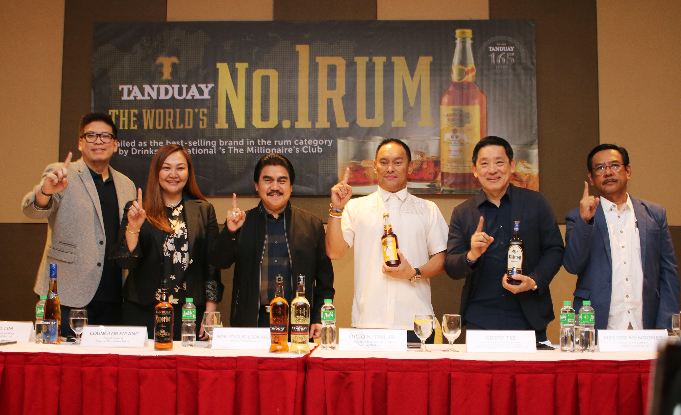 For the 2nd straight year, 165-year-old Tanduay has maintained its position as the world's number #1 rum by volume as determined by Drinks International, outperforming all other rum brands including Bacardi, with 20.1M 9L cases sold.