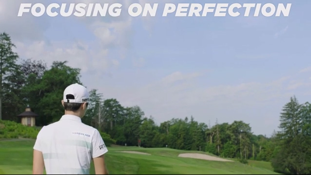 Watch LG SIGNATURE and world-renowned golfers Chun In-gee and Park Sung-hyun maintain their unbreakable focus on 'Perfection'
