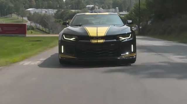 Hertz and Hendrick Motorsports Introduce Exclusive High-Performance Camaros to Rent and Win