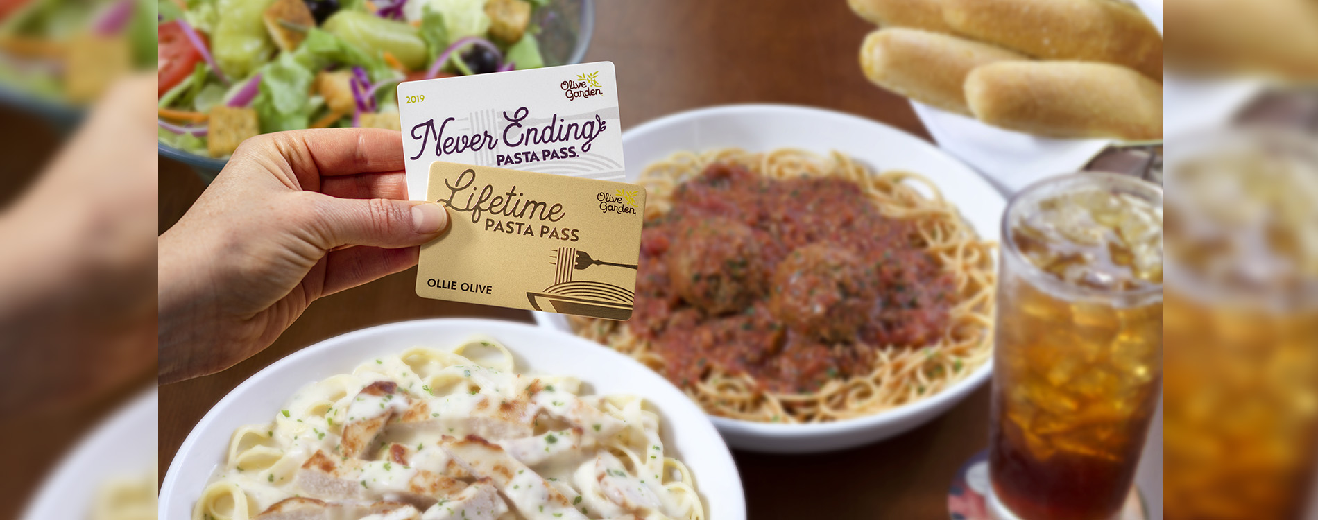 Olive Garden Introduces Never Ending Pasta...