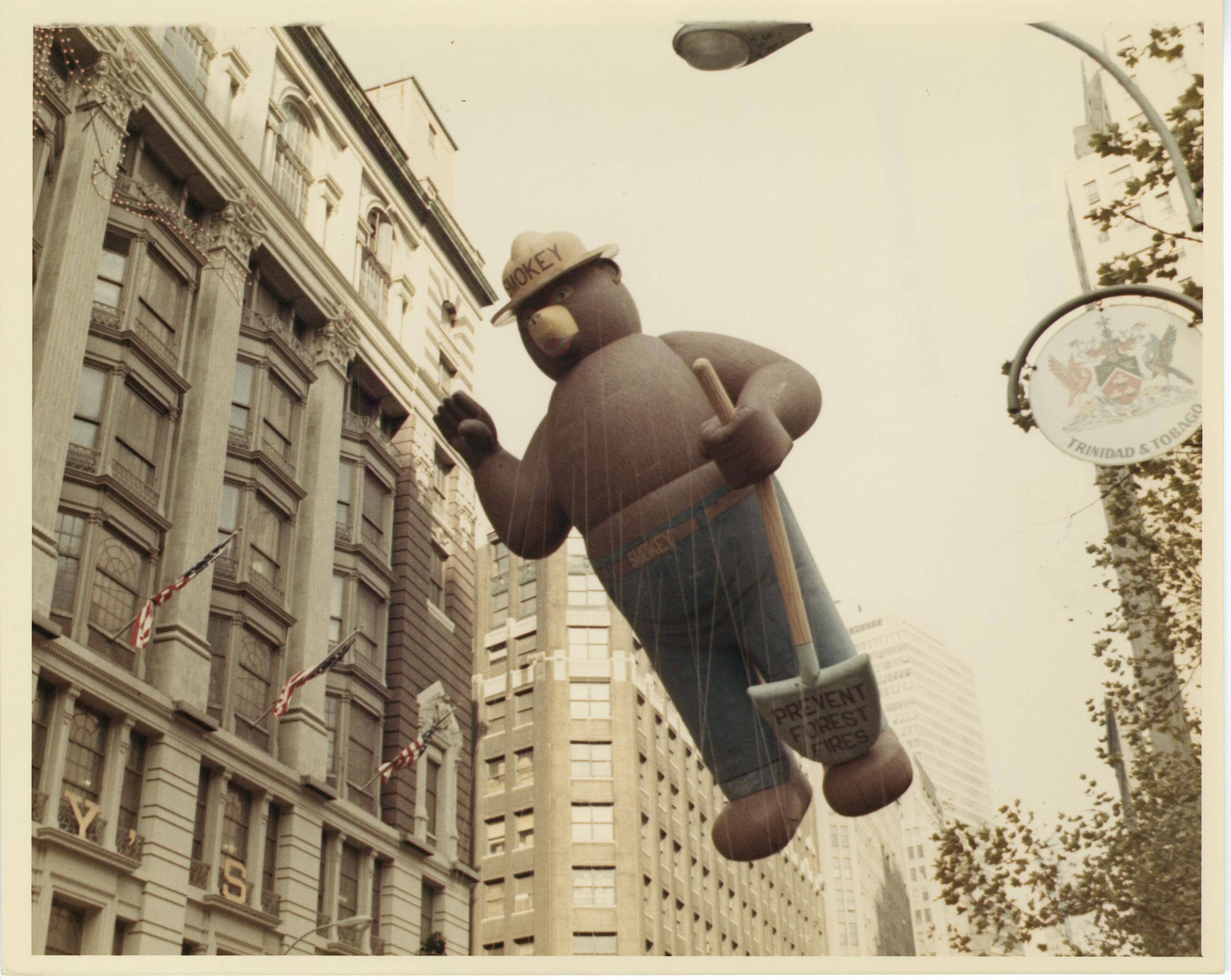 Smokey Bear original 1966 balloon