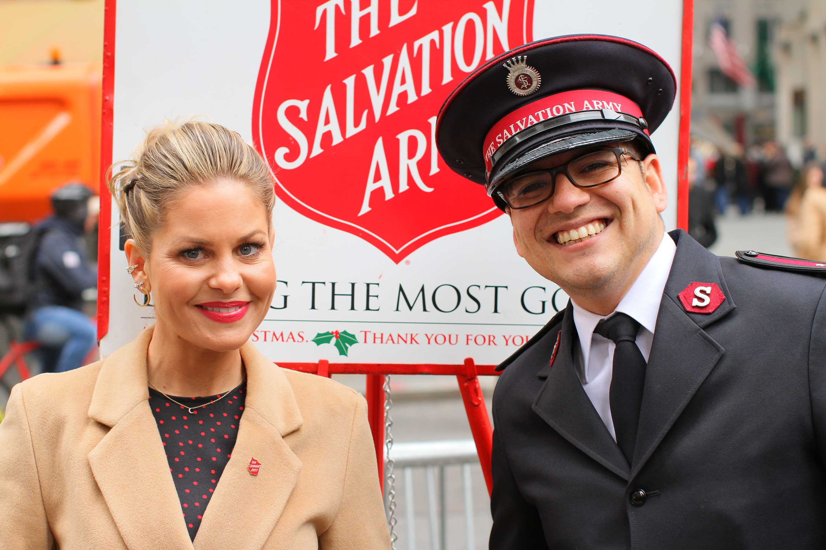 Candace Cameron Bure Named 2019-2020 Celebrity Ambassador for The Salvation Army