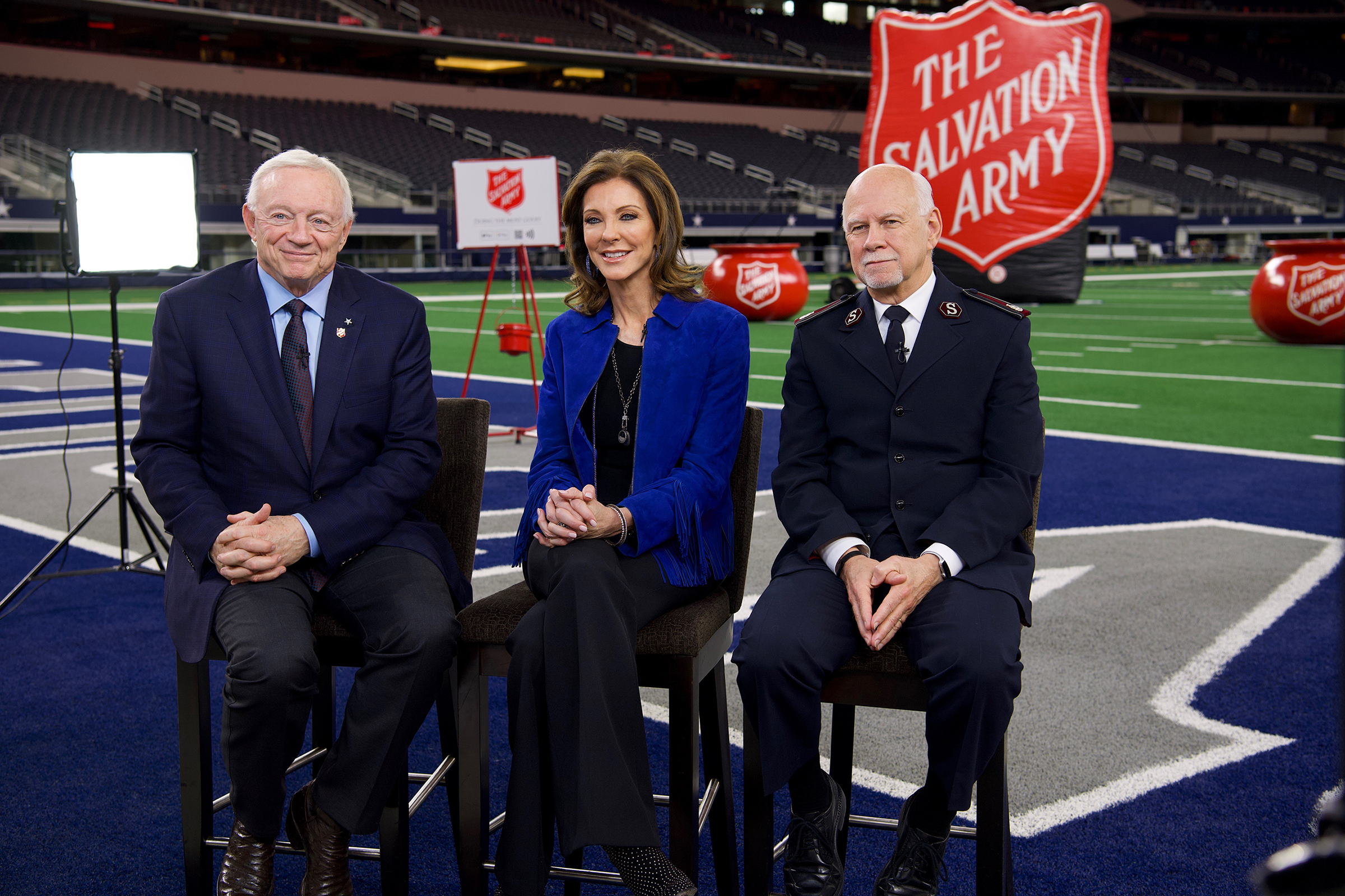 The Salvation Army and the Dallas Cowboys have been partners for 23 years