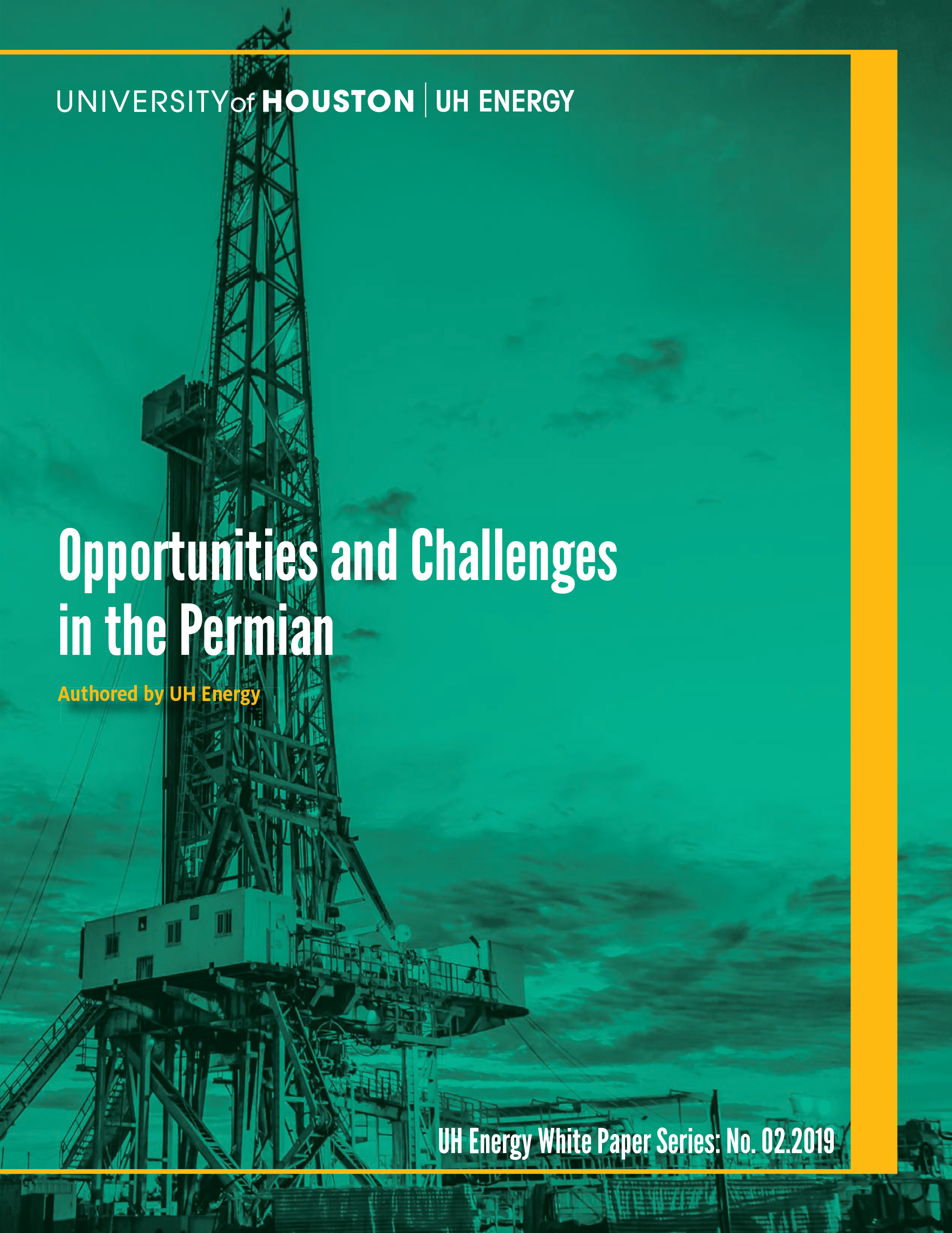Opportunities and Challenges in the Permian, a white paper authored by UH Energy and commissioned by Hastings Equity Partners