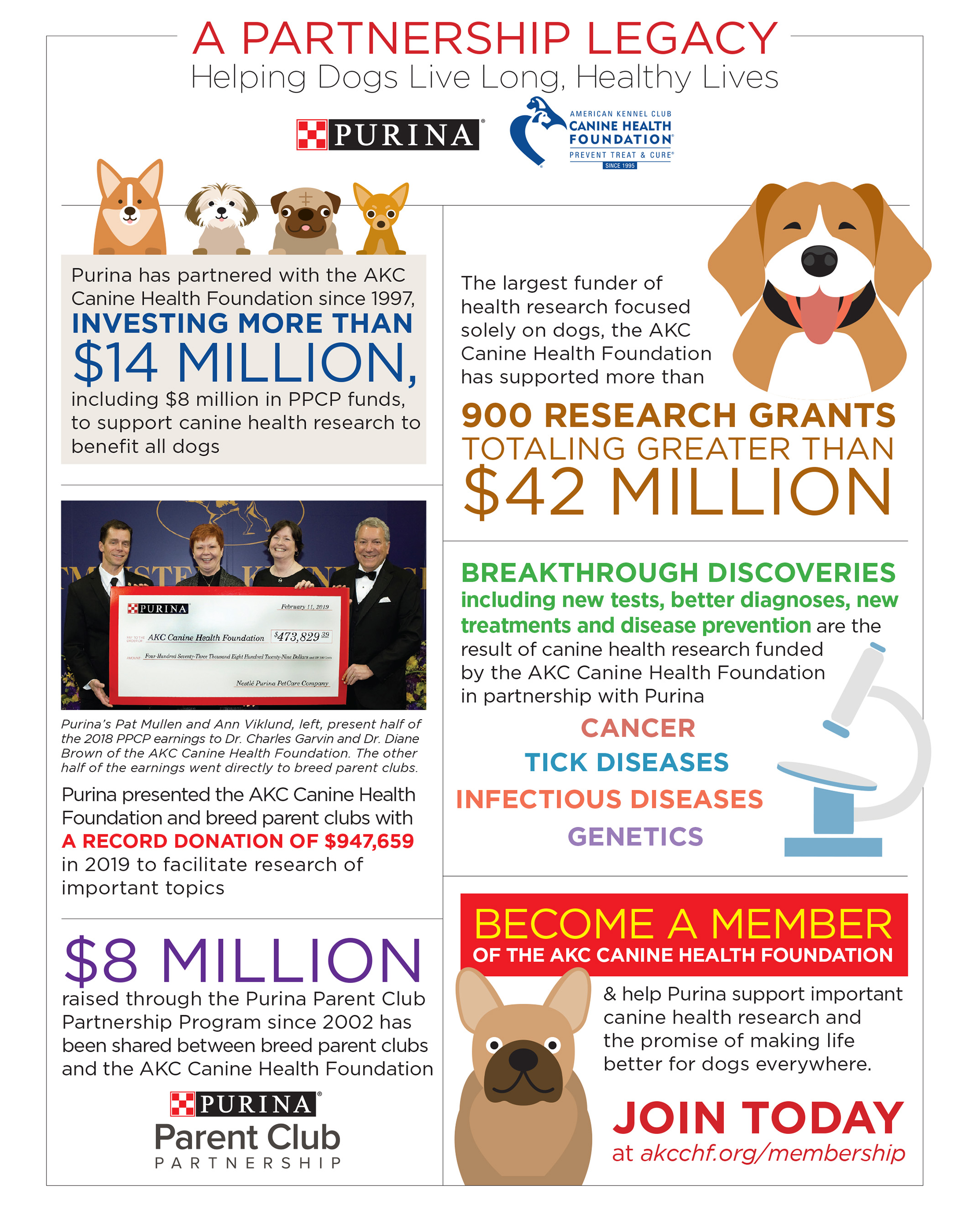 A Partnership Legacy Infographic
