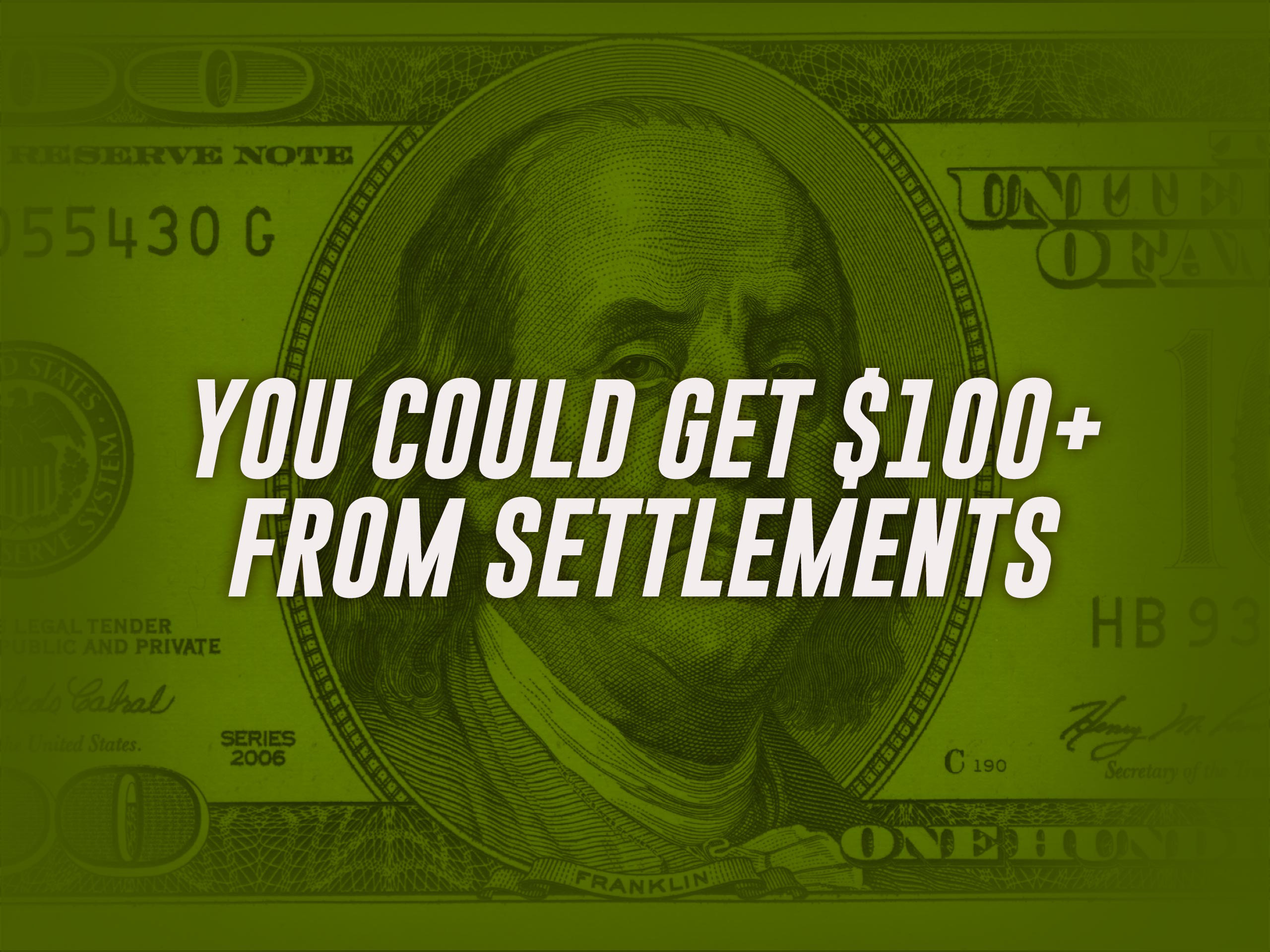 Owned or Leased Vehicles?   Or bought replacement parts? Consumers and businesses could get $100 or more from Settlements because they may have paid too much for the parts in their vehicles.
