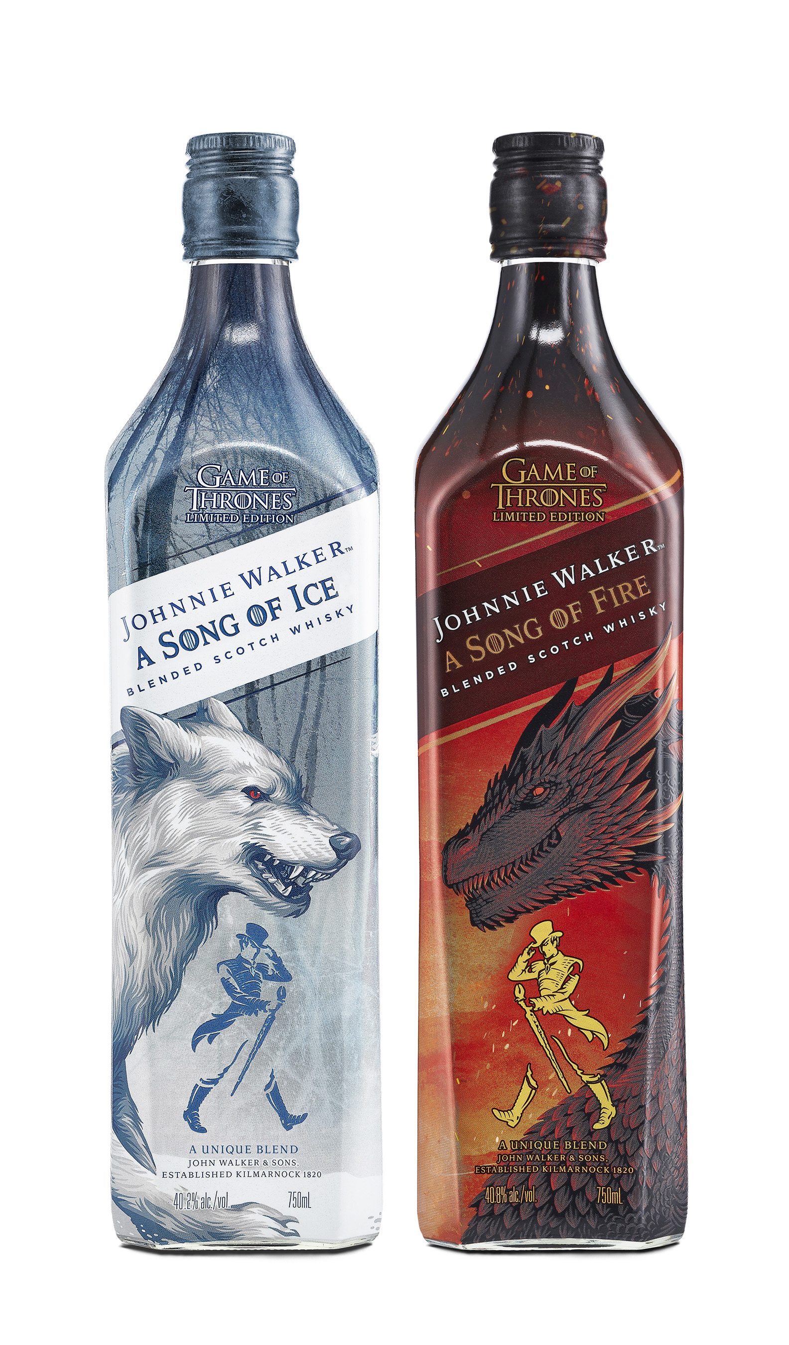 Introducing Johnnie Walker A Song of Ice and A Song of Fire in celebration of the enduring legacy of Game of Thrones.