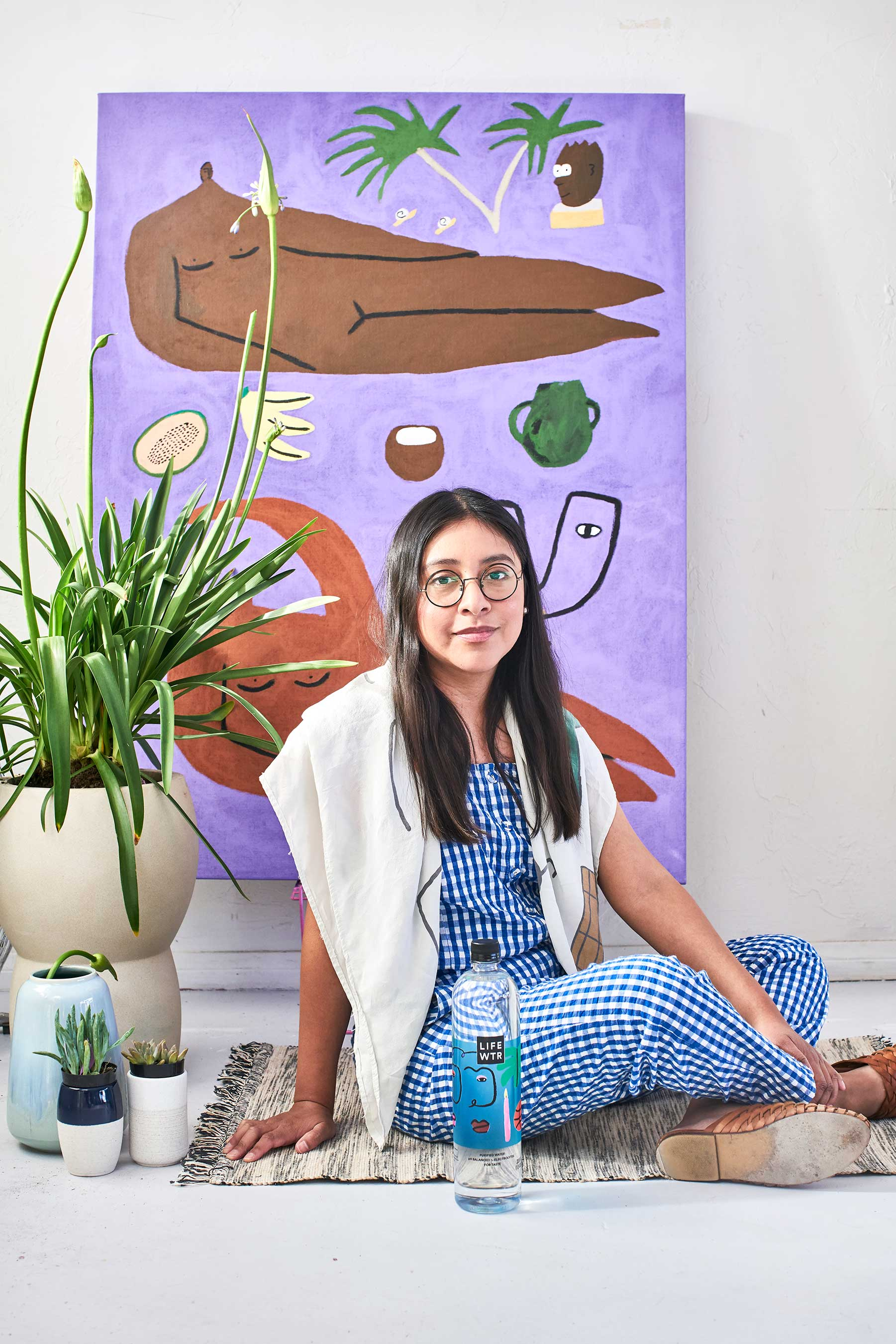 LIFEWTR Series 8 Artist Lilian Martinez