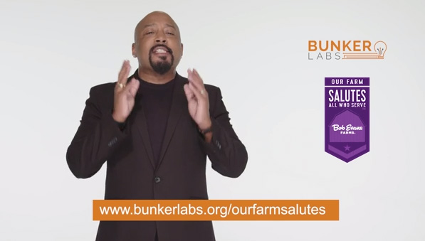 Bob Evans Farms Releases Public Service Announcement With Daymond John To Support Military Entrepreneurs This Veterans Day