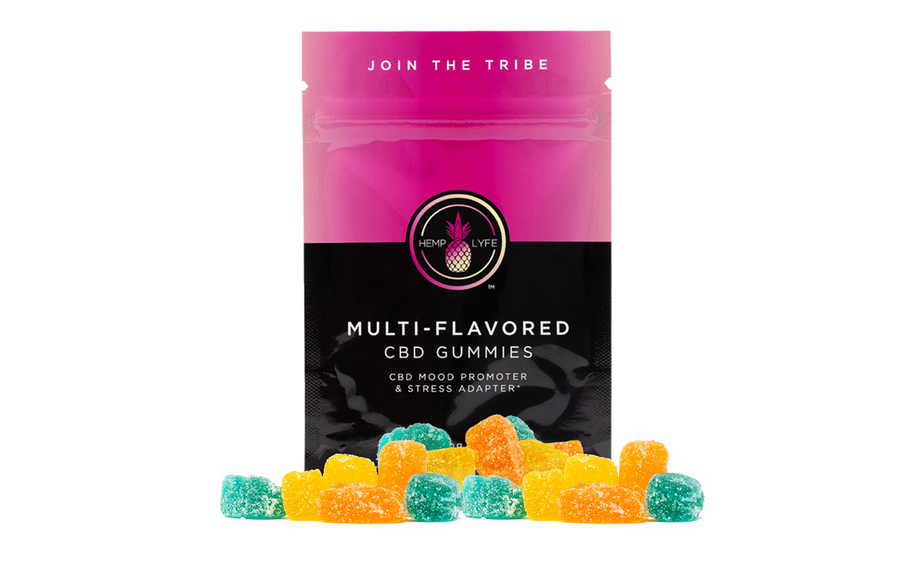100% fruit CBD infused gummies